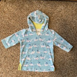 Pottery Barn Kids swimsuit coverup 12-18 months